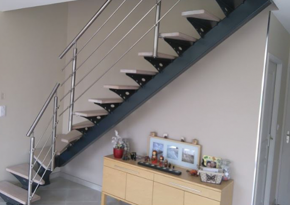 fabrication escalier métallique sur-mesure