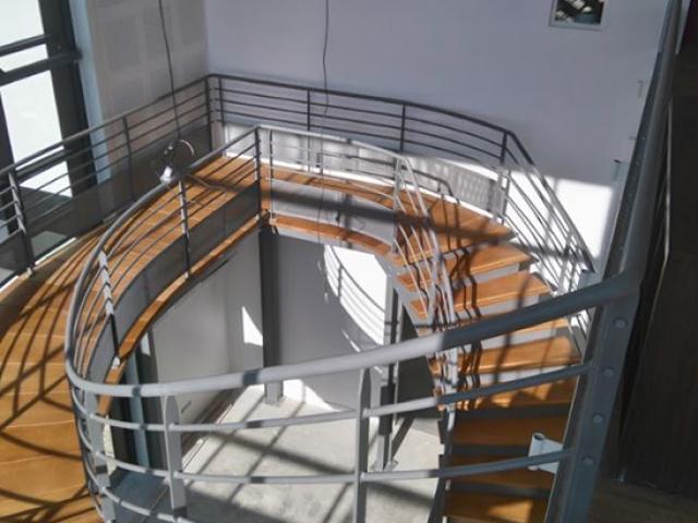 Escalier métallique appartement